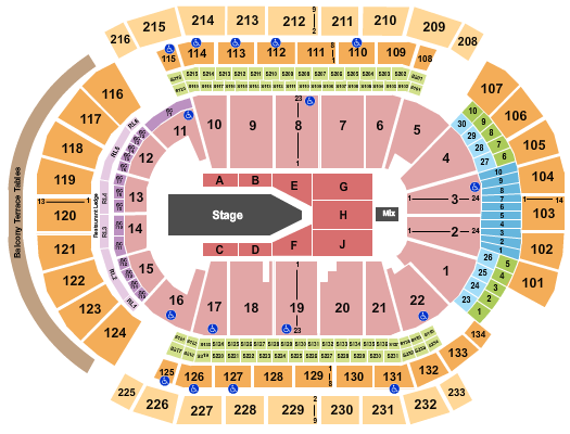 Prudential Center seating chart event tickets center