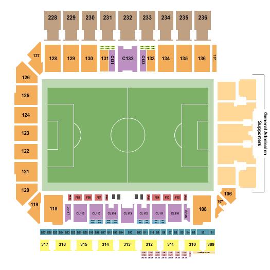 Q2 Stadium seating chart event tickets center