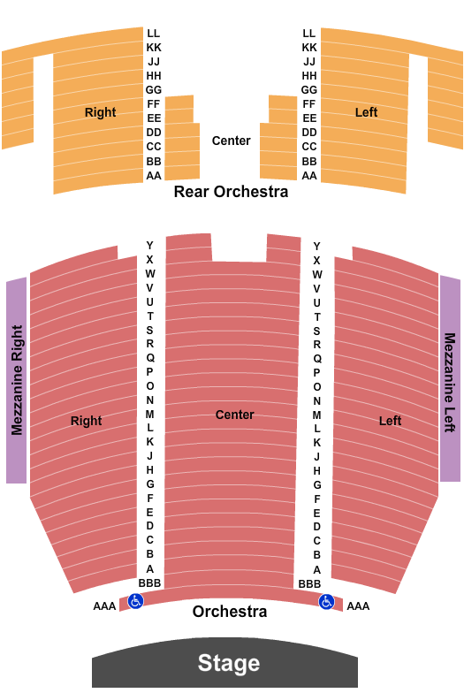 Queen Elizabeth Theatre - Toronto Seating Chart