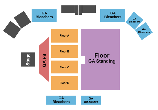 Quillen Arena At Delaware State Fairgrounds seating chart event tickets center