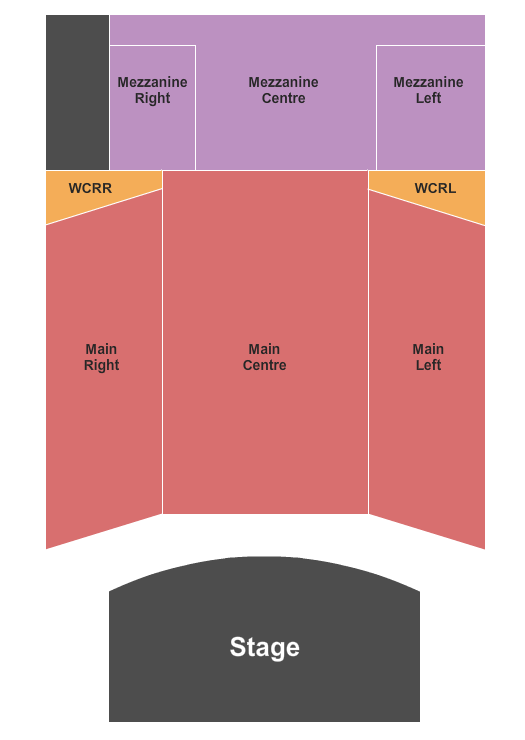 Red Deer Memorial Centre seating chart event tickets center