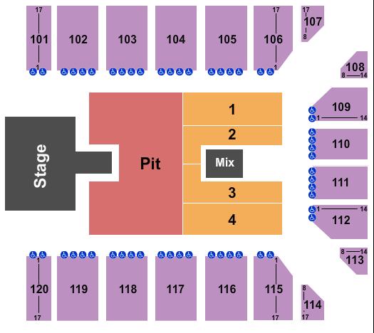 Reno Events Center Floor Plan