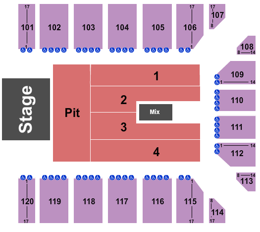 Reno Events Center Floor Plan