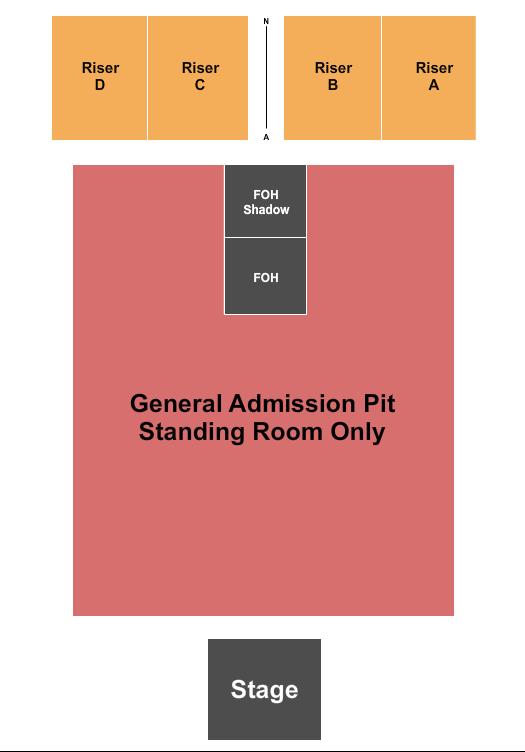 Resch Center seating chart event tickets center