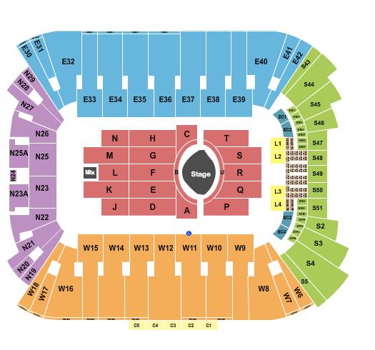 Rice Eccles Stadium Seating Chart