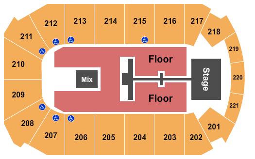 Rio Rancho Events Center Floor Plan