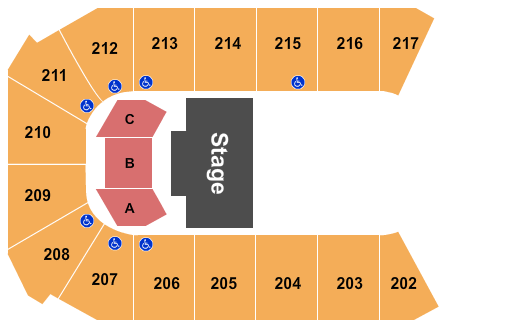 Rio Rancho Events Center Seating Chart Plan