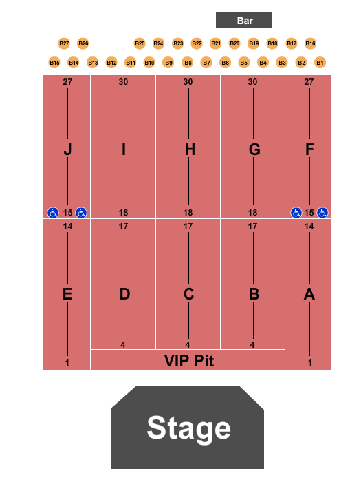 River Cree Casino seating chart event tickets center