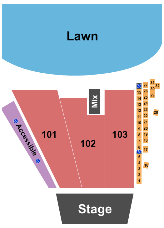 Riverfront Park Amphitheater seating chart event tickets center
