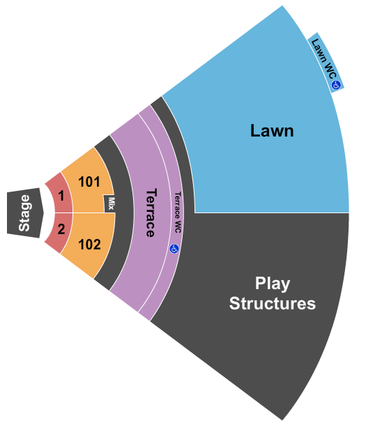 Riverside Park Amphitheater Seating Chart