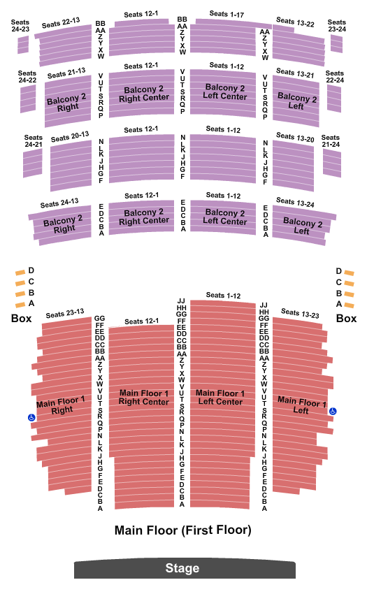 Riverside Theatre - WI seating chart event tickets center