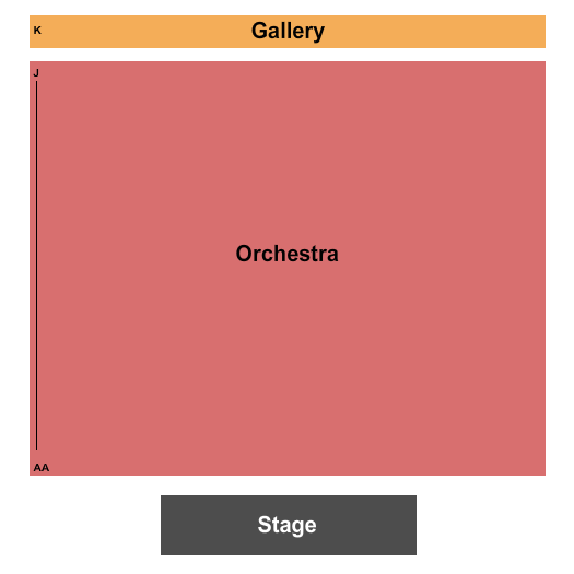 Roberts Studio Theatre at Boston Center For The Arts seating chart event tickets center