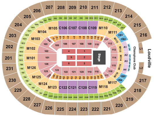 seating chart for Rocket Mortgage FieldHouse Genesis - eventticketscenter.com
