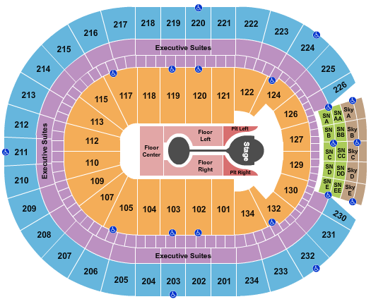 Rogers Place seating chart event tickets center