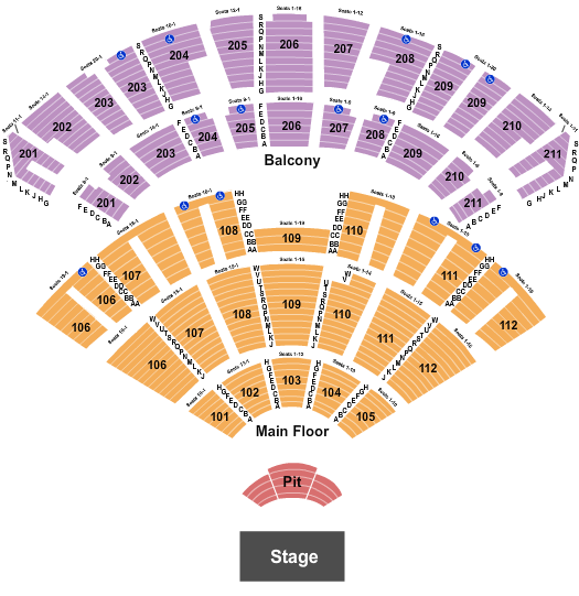Rosemont Theatre seating chart event tickets center