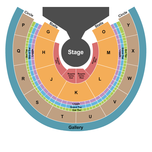 Royal Albert Hall Seating Chart Plan