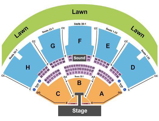 Ruoff Home Mortgage Music Center Rascal Flatts 2020 seating chart - eventticketscenter.com