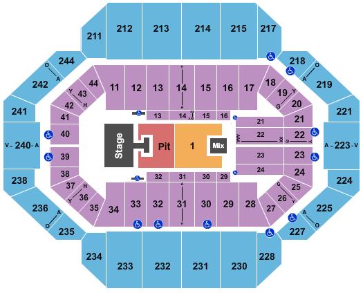 Rupp Arena At Central Bank Center Floor Plan