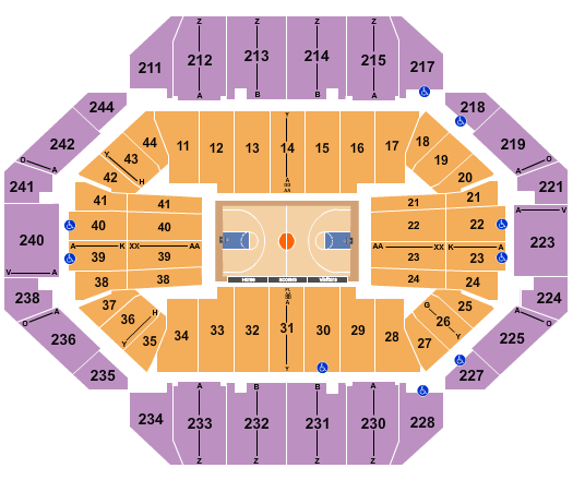 seating chart for Rupp Arena At Central Bank Center NCAA Basketball - eventticketscenter.com