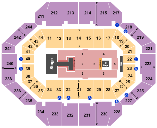 Rupp Arena At Central Bank Center seating chart event tickets center