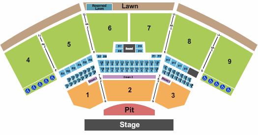 The Pavilion At Star Lake seating chart event tickets center