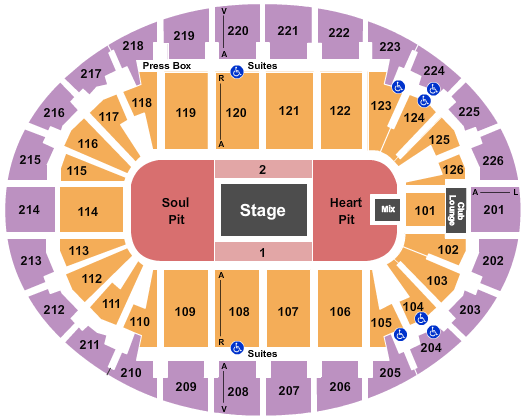 SNHU Arena Floor Plan