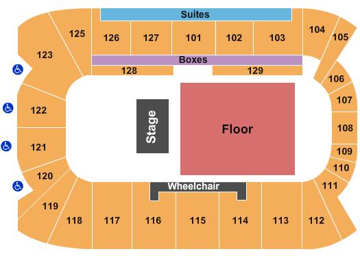 Sadlon Arena Seating Chart