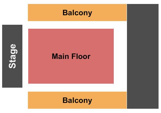 Saint Andrews Hall - Detroit Floor Plan