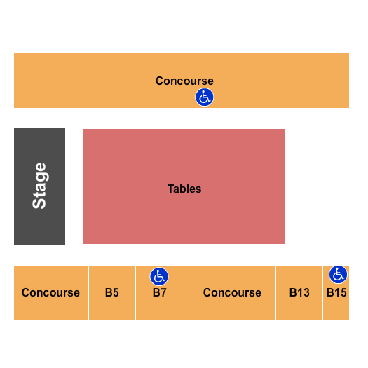 seating chart for Salem Civic Center RSO - eventticketscenter.com