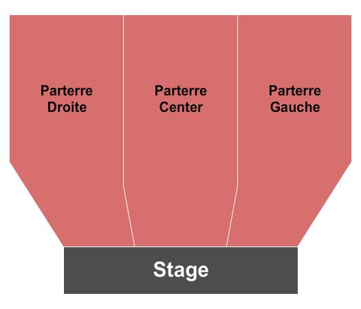 Salle Richard-Sauvageau Seating Chart
