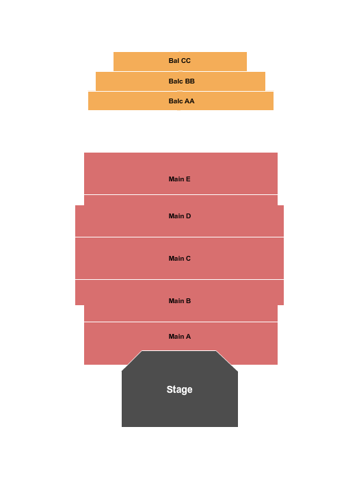 Brian Regan Sanctuary Events Center Seating Chart