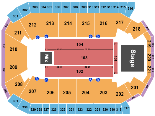 Rio Rancho Events Center Seating Chart