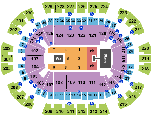Save Mart Center seating chart event tickets center