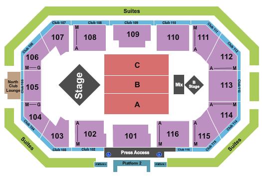 Scheels Arena seating chart event tickets center
