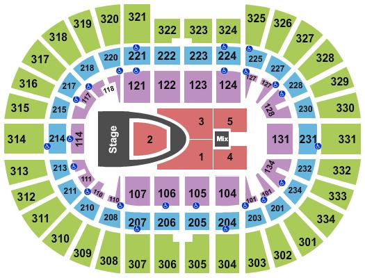 Value City Arena at The Schottenstein Center Floor Plan