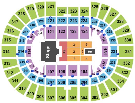Schottenstein Center seating chart event tickets center