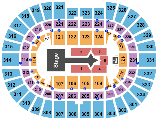 Schottenstein Center Floor Plan