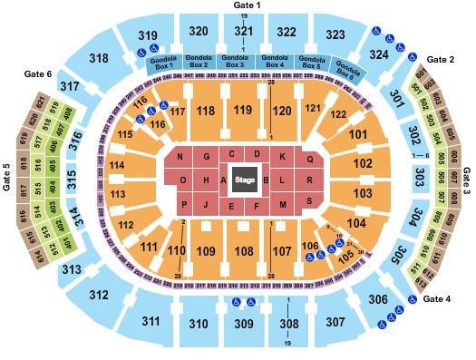 Scotiabank Arena Floor Plan