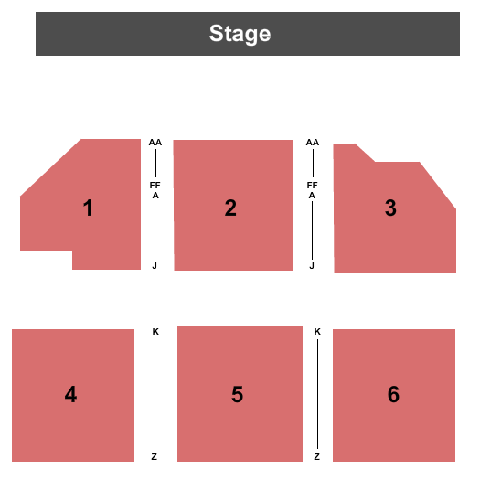 Scottish Rite Theater - Harrisburg Seating Chart