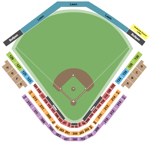 Scottsdale Stadium Floor Plan