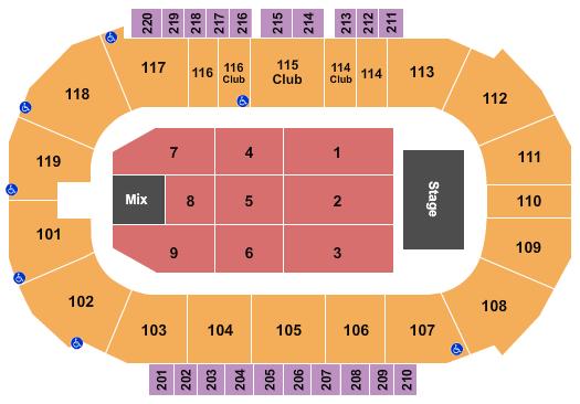 Showare Center Tax Time seating chart - eventticketscenter.com