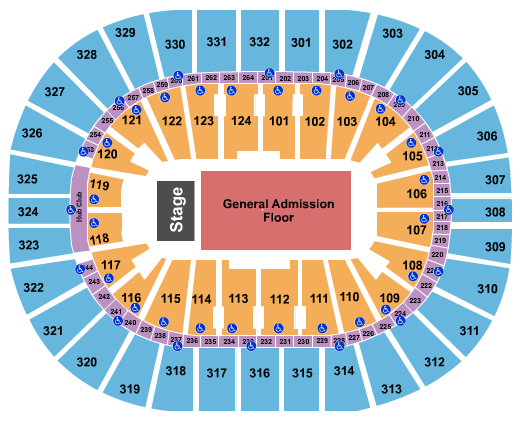 Smoothie King Center seating chart event tickets center