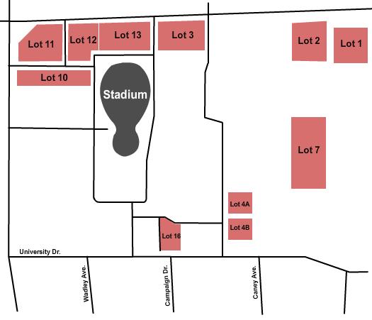 SoFi Stadium Parking Lots Floor Plan