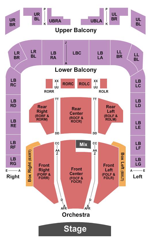 Soldiers & Sailors Memorial Auditorium Floor Plan