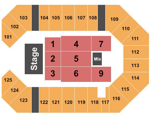 Southeastern Kentucky Agricultural And Exposition Center seating chart event tickets center