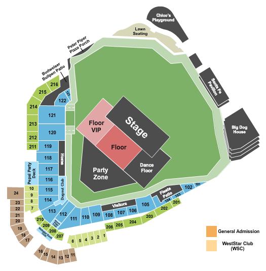 Southwest University Park Floor Plan