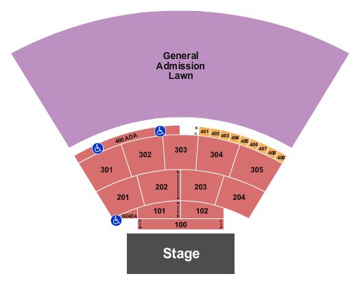 Spellman Amphitheater Floor Plan