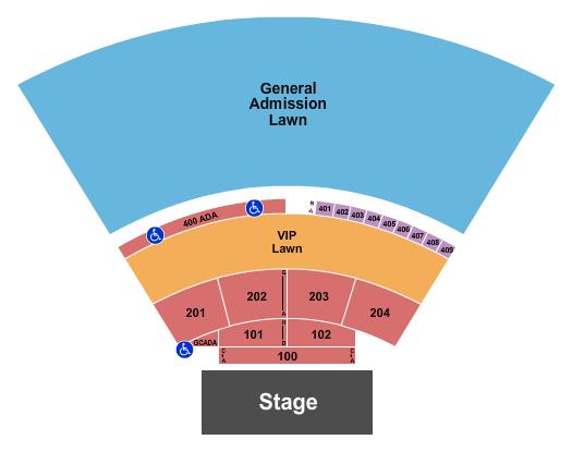 Spellman Amphitheater Seating Chart