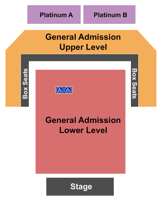 Stage AE seating chart event tickets center