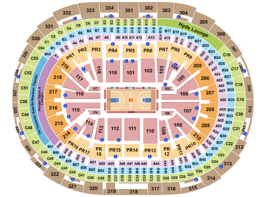 Staples Center Floor Plan